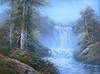 painting (alanpeacock2) Tags: water trees photostream nature painting landscape waterfall flickrnova art