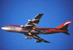 CP Air 747-217B....cn20909 taking off from  CYYZ (GeorgeM757) Tags: toronto boeing yyz b747 747200 cpair 20909 queenoftheskies cfcre 747217b 20909jumbo