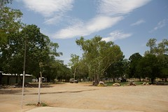 Warnum Roadhouse Parking Lot