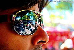 Mirror Image. (A_Sarkar) Tags: china travel portrait color reflection glass face sunglasses mirror eyes nikon shades vision glares d3000
