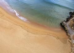 Albufeira Beach (Hans van der Boom) Tags: europe portugal algarve vacation holiday albufeira beach sand emoty sea pt