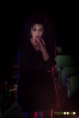 DSC_8285 (Pist@cchio) Tags: modeling nikon d810 modelle pistacchio ragazza art pose goth gothic model gotico cosplay girls portrait bizzarre light blood ghost death abandoned makeup