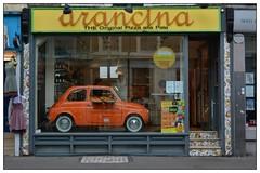 The Italian Job ... (junepurkiss) Tags: food london fiat pizza nottinghill motorcar italiancar theitalianjob