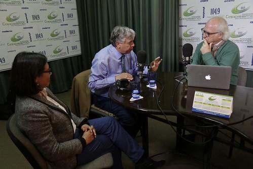 Entrevista en radio Capissima de Arica