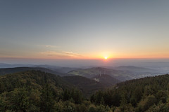 Blackforest, Germany (jan kuenzel) Tags: freiburg schauinsland landscape scenery germany blackforest schwarzwald sundown