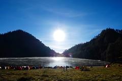 Ranukumbolo (siriusbintang) Tags: ranukumbolo semeru malang exploremalang lake mountain traveling traveller backpacker landscape nature sunrise sunshine