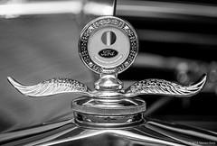 Ford Model A Hood Ornament - Radiator Cap 2016 Steven Karp (kartofish) Tags: modela ford thermometer hoodornament radiatorcap fujifilm xt1 chrome newhope autoshow pennsylvania buckscounty