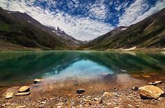 Jheel Saiful Muluk (wajahat malik) Tags: saifulmalook lake lakeinpakistan travelbeautifulpakistan travel summer reflection sky green blue sun mountains
