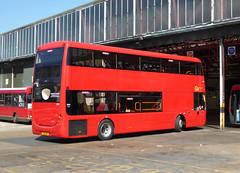 GAL OM1 - YJ16DB0 - OSR - BX BEXLEYHEATH BUS GARAGE - WED 24TH AUG 2016 (Bexleybus) Tags: bexleyheath bus garage bx kent goahead go ahead london optare metrodecker om1 yj16dbo demo trial demonstrator mercedes