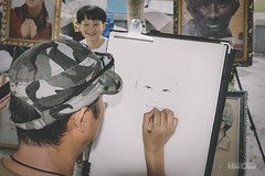 _MG_3212 (Hao Chan Time Sample Studio) Tags: street art painting painter boy