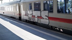 Graffiti (Honig&Teer) Tags: graffiti honigteer hannover hbf db deutschebahn aerosolart train treno traingraffiti trainart railroad railroadgraffiti railways eisenbahngraffiti ic