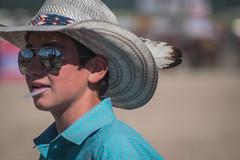 rodeo-montana-32 (Three Man Group) Tags: montana rodeo ronan fair reflection cowboyhat