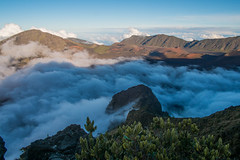 Inside Haleakala Crater (8mr) Tags: iao valley needle driving hiking haleakala crater volcano maui 808 hawaii honolulu mother nature scenic views landscape clouds