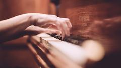 Pianist (Robbie Khan) Tags: canon5d hampshire hmsexcellent koweddings portsea sigma solent wedding piano pianist 85mm