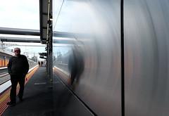- (_barb_) Tags: australia melbourne ormond ormondstation trainstation street reflection
