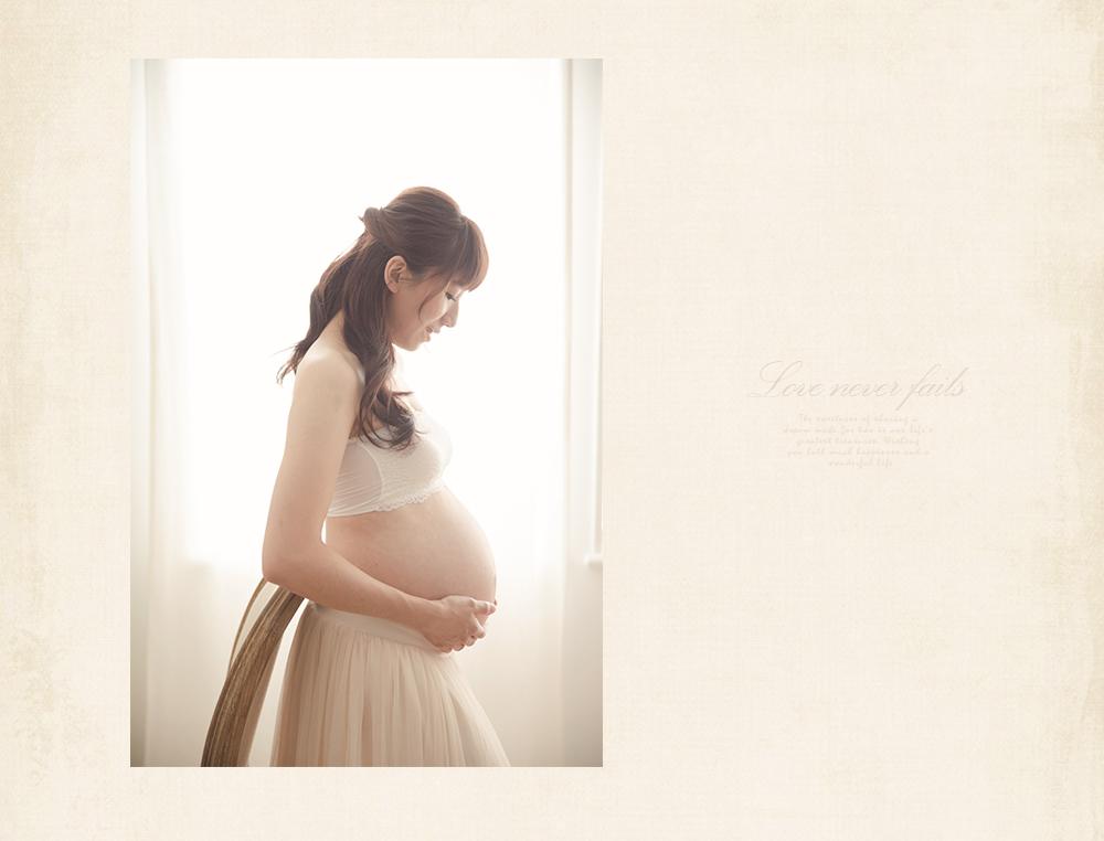 女攝影師孕照寫真服裝準備