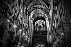 Notre Dame de Paris (Armin Hage) Tags: notredamedeparis notredame cathedral paris france gothic frenchgothic crusade nave