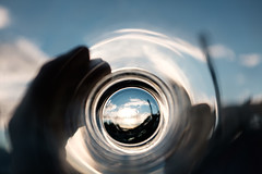 Time To Go (conradolson) Tags: falsecreek glass drink bc thewicklow pub northamerica sky canada beer vancouver foodanddrink britishcolumbia