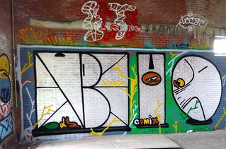 Graffiti Antwerp Club Petrol