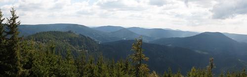 Panorama sur les hauteurs d' Oppenau