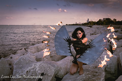 Sierra Martinez - Fire Wings (46 of 114).jpg (Lens Cap Tim Photography) Tags: sally marvel wings fire icarus steel sunset dusk beautiful chicago lakeshore lens cap tim photography nikon d750 tamron 35mm strobist