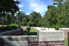 Devonshire CWGC Cemetery, Mametz, Somme. (greentool2002) Tags: