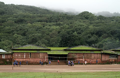 Boys School (cowyeow) Tags: amboli maharashtra india indian travel asia asian southasia school study students education boy boys boysschool young primary primaryschool children kids odd sindhudurg patriotism belief indoctrination standing forest green landscape view westernghats sahyadri ghats recess