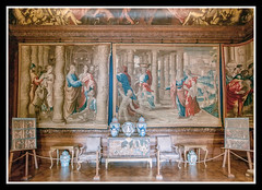 Tapestries and Furniture (veggiesosage) Tags: derbyshire aficionados gx20 chatsworthhouse statelyhome grade1listed sigma1020mmf456