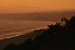 Sunset Over Santa Cruz 3 (227/366) (C.M. Keiner) Tags: santa cruz california pacific ocean sunset clouds fog summer beach coast