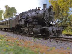 DSC01569edit (ecpeters15) Tags: reading company railroad suburban tank steam locomotive engine 264 kit bash kitbash custom scratch built build ho scale model train
