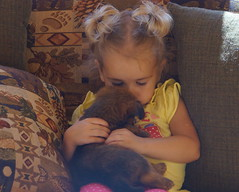 Ava and puppy 3