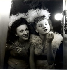 french chorus girls (unexpectedtales) Tags: girls beautiful chorus french pretty photographer dancers snapshot line 1940s photograph lido serge