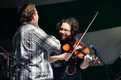 La Bottine Souriante @ Gallagher Park. 2012 Edmonton Folk Music Festival. (Edmonton Folk Music Festival) Tags: canada edmonton alberta edmontonfolkmusicfestival 2012 mainstage gallagherpark tomturner labottinesouriante