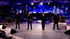 .Take That perform at the ' Olympic Closing Ceremony ' Shown on BBC1 HD England