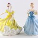 "97B. Royal Doulton ""Enchantment"" & ""Ninette"""