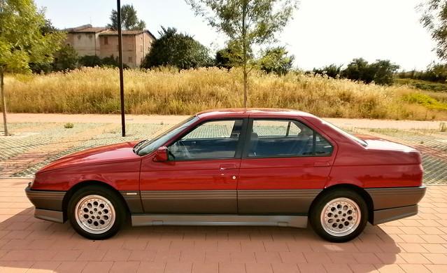 italy 30 1993 alfa romeo 164 v6 quadrifoglio q4 24v
