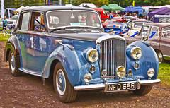 Bentley (sykerabbit77) Tags: auto nikon classiccars bentley tattonpark d7000