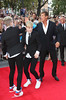 John Grimes, Edward Grimes aka Jedward and David Hasselhoff 'Keith Lemon the Film' World premiere held at the Odeon West End
