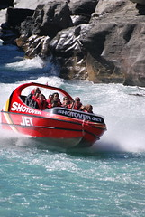 Queenstown - Shotover Jetboats (OurPhotoWork) Tags: travel newzealand holiday holidays adventure nz southisland queenstown powerboat waterfun touristattraction highspeed jetboat shotover nz2011 ourphotowork