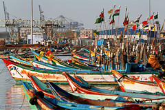 Riot of colors (Light and Life -Murali ) Tags: colors boats boat harmony chennai tamilnadu img1683p1s