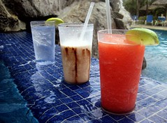 A few of my Favourite things... (~Bella189) Tags: water pool costarica drinks bigmomma thechallengegame friendlychallenges