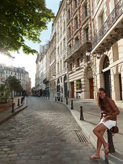 Fofinha hermosa! (chilangoco) Tags: city woman paris girl beauty island mujer europa europe ciudad francia isla cata