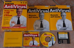 Norton Antivirus 4.0 (Luigi Rosa has moved to Ipernity) Tags: museum norton software 40 museo antivirus symantec storia programma