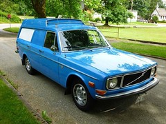 145 VAN, 1971 Volvo Club of British Columbia, for sale 1 (hinterland_1) Tags: blue volvo 1971 express b20 140 145s