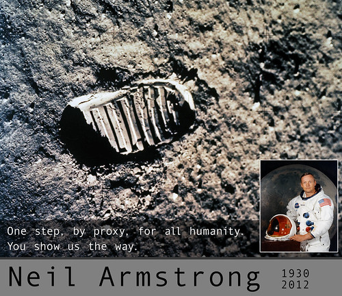Neil Armstrong, 1930 - 2012 by aforgrave, on Flickr