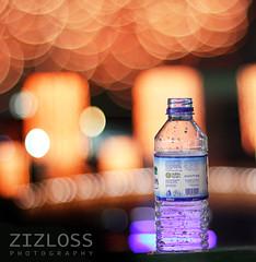 El Mayya eb Terwi el 3a6shan ;D (ZiZLoSs) Tags: water canon eos 50mm bottle bokeh kuwait ef50mmf14usm 600d zizloss abdulazizalmanie