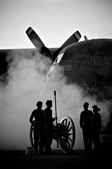 After The Battle (Grant is a Grant) Tags: nova silhouette nikon ns military ceremony royal silhouettes greenwood artillery scotia nikkor 3rd hercules annapolisvalley c130 brigade rcaf canadianforces d90 sunsetceremony 55300 cfbgreenwood 55300mm 14wing