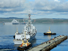 USS Farragut arrives in Severomorsk. (Official U.S. Navy Imagery) Tags: russianfederation severomorsk