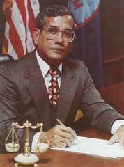 Governor Ricardo J. Bordallo