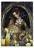 belleza oscura. (Yalith Mizraim design) Tags: color art mujer arte lapiz colores prismacolor diseño velas manta colorear pintura vampira tela bubis telarañas bastidor yalith mizraim